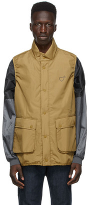 adidas x Human Made Khaki Inflatable Vest