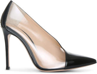 Gianvito Rossi Deela 105 black patent leather pumps
