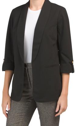 Long Shawl Collar Blazer