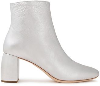 Loeffler Randall Cooper Metallic Leather Ankle Boots