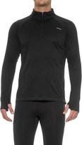 Hind Textured Wicking Zip Neck Shirt - Long Sleeve (For Men)