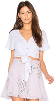 Show Me Your Mumu Tortuga Top in White. - size L (also in M,S)