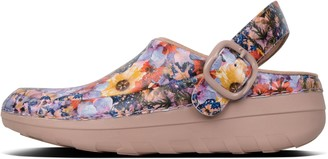 FitFlop Gogh Pro Flowercrush Leather Clogs