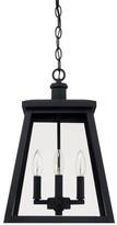 Upsala 4-Light Outdoor Hanging Lantern Gracie Oaks Finish: Black