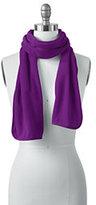Classic Women's 100 Fleece Scarf-Purple Beet