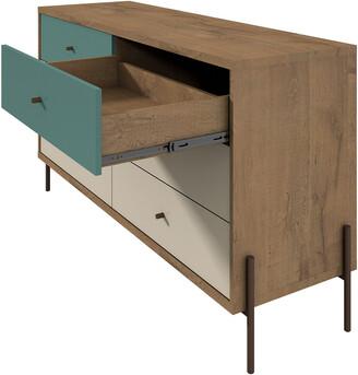 Manhattan Comfort Joy 59In Wide Double Dresser