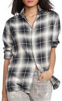 Polo Ralph Lauren Plaid Patterned Silk Shirt