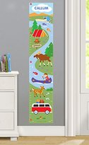 Olive Kids Camping Trip Personalized Wall Decal Growth Chart