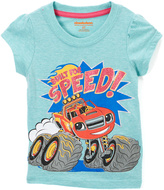 Children's Apparel Network Blue Blaze & the Monster Machines Short-Sleeve Tee - Toddler