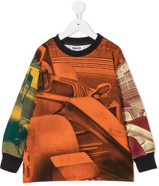 Molo Car Print Sweatshirt