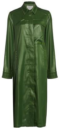 3.1 Phillip Lim Lacquered Overcoat