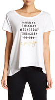 Betsey Johnson Friday Champagne Swing Tee
