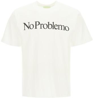 Aries No Problemo Print T-Shirt