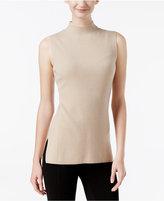 Calvin Klein Ribbed Mock-Neck Sweater