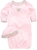 Little Me Baby Set, Baby Girls Gown and Beanie