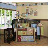 GEENNY Boutique Airplane Aviator Boy 13PCS CRIB BEDDING SET