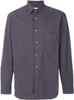 Brioni classic embroidered shirt - men - Cotton - Xxxl