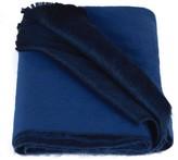 Alpaca Loca Double Scarf Royal & Cobalt Blue