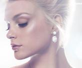 Swarovski Vanilla Long Pierced Earrings