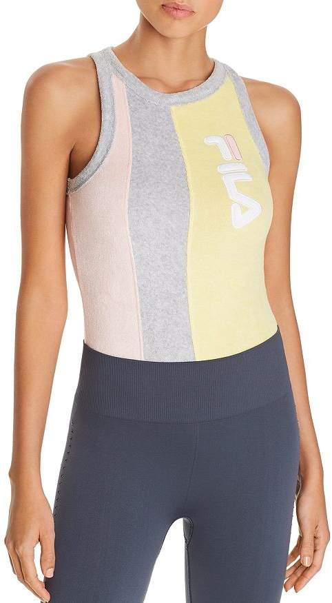 Fila Dahlia Color-Block Terry Bodysuit