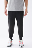 Forever 21 FOREVER 21+ Contrast Waist Sweatpants
