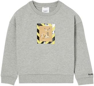 Burberry Bambi Printed Cotton Sweatshirt