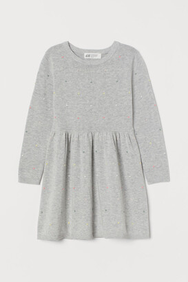 H&M Fine-knit cotton dress