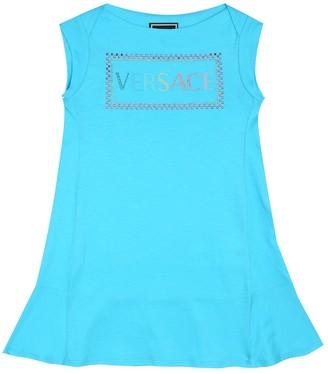 Versace Kids Cotton dress