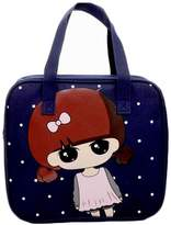 Black Temptation Blue Lunch Tote Bag Reusable Lunch Bag For Kids/Students