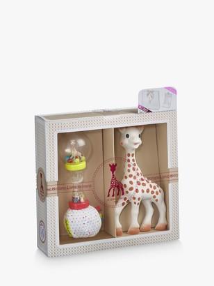 Sophie La Giraffe Sophisticated Maracas & Teether Gift Set