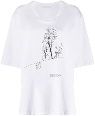 Societe Anonyme loose fit printed T-shirt