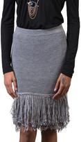 Endless Rose Fringe Knit Skirt