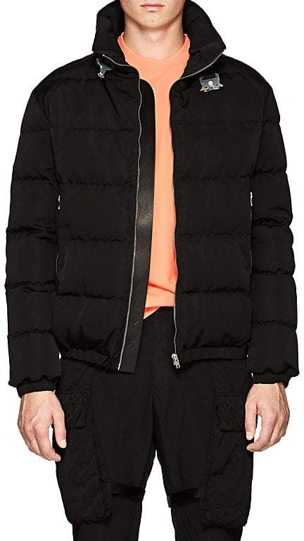 Moto ALYX Men's Down-Quilted Puffer Jacket
