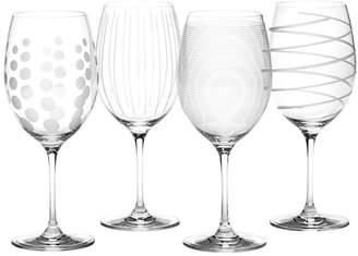 Mikasa Cheers Red Wine Glasses Set Of 4