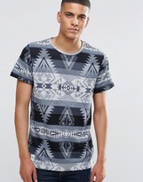 NATIVE YOUTH Geo Print T-Shirt