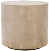 Safavieh Diesel Faux Shagreen End Table, Natural
