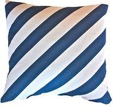 Kim Salmela Ronin 20x20 Cotton Pillow, Blue