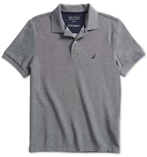 Nautica Men's Slim-Fit Solid Deck Polo