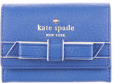 Kate Spade Cobble Hill Bow Leather Wallet