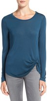 Cupcakes And Cashmere Women's 'Blakely' Long Sleeve Knit Top