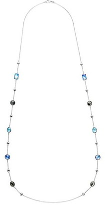 Ippolita Rock Candy Sterling Silver Bead Station Necklace