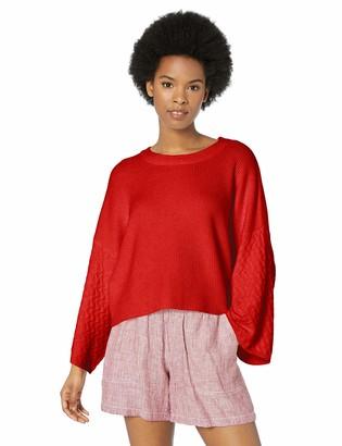Jack by BB Dakota Womens in The Mix Stitch Sweater