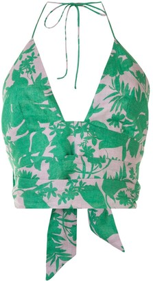 Alexis Gaila floral print top