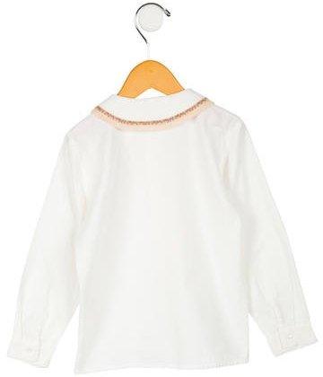Papo d'Anjo Girls Long Sleeve Top
