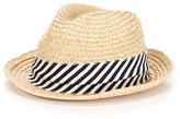 Hat Attack Weekend Braided Raffia Fedora