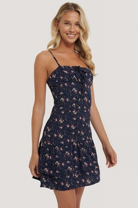 Trendyol Flower Patterned Mini Dress