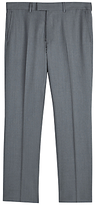 Jaeger Wool Twill Regular Fit Suit Trousers, Grey