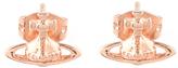 Vivienne Westwood Women's Lorelei Stud Earrings Pink Gold