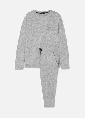 Rails Micah Brushed Jersey Sweatshirt And Track Pants Set - Gray