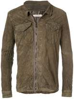 Giorgio Brato textured shirt jacket